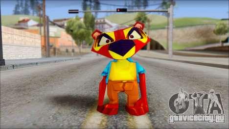 Chang the Firefox from Fur Fighters Playable для GTA San Andreas второй скриншот
