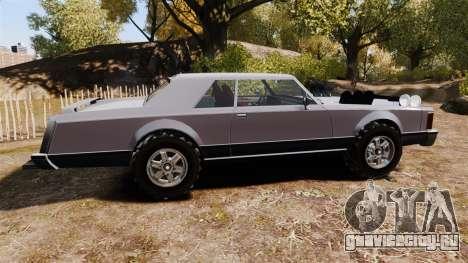 Dundreary Virgo Cliffrider для GTA 4 вид слева