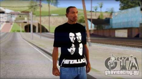 Metallica T-Shirt для GTA San Andreas