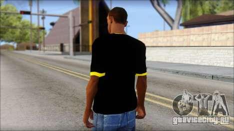 Batman T-Shirt для GTA San Andreas второй скриншот