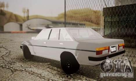 Toyota Cressida 1987 для GTA San Andreas вид слева