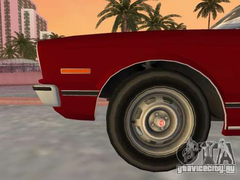 Toyota Cressida RX30 1977 для GTA Vice City вид справа