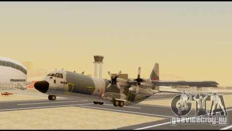 C-130 Hercules Indonesia Air Force для GTA San Andreas вид справа