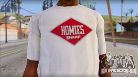 CM Punk T-Shirt для GTA San Andreas третий скриншот
