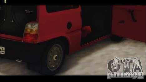 ВАЗ 1111 Ока для GTA San Andreas салон