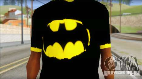 Batman T-Shirt для GTA San Andreas третий скриншот