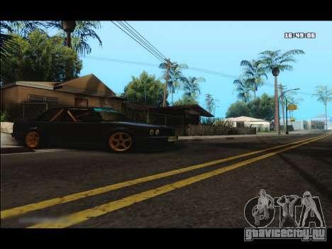 BMW e30 UDC для GTA San Andreas вид слева
