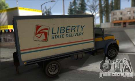 GTA IV Yankee для GTA San Andreas вид слева