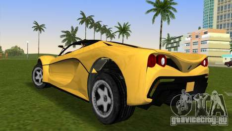 Turismo R from GTA 5 для GTA Vice City вид слева