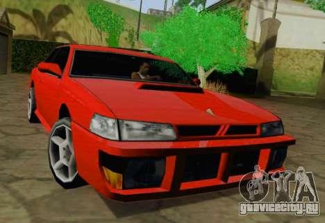 Sultan Coupe для GTA San Andreas вид слева