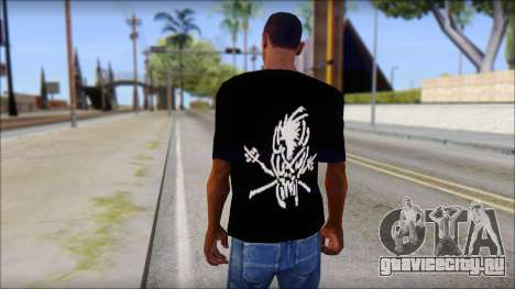 Metallica Logos T-Shirt для GTA San Andreas второй скриншот