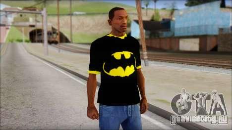 Batman T-Shirt для GTA San Andreas