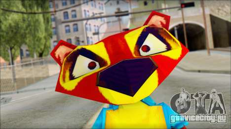 Chang the Firefox from Fur Fighters Playable для GTA San Andreas