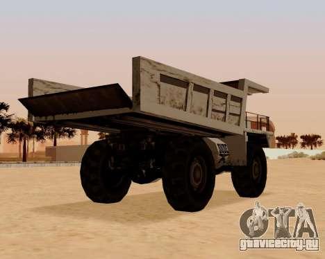 Обновлённый Dumper для GTA San Andreas вид сзади слева