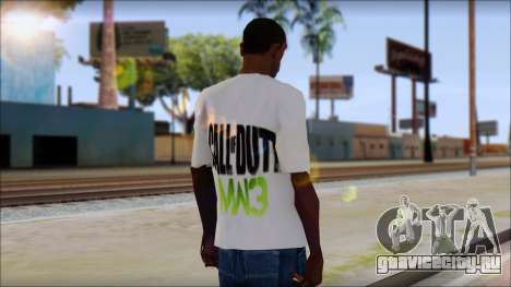 COD MW3 Fan T-Shirt для GTA San Andreas второй скриншот