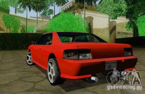 Sultan Coupe для GTA San Andreas вид справа