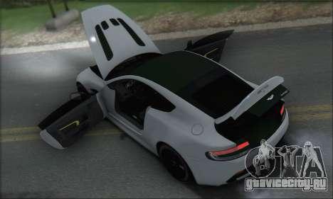 Aston Martin V12 Vantage S 2013 для GTA San Andreas колёса