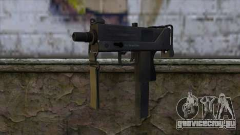 Mac-10 from CS:GO v2 для GTA San Andreas