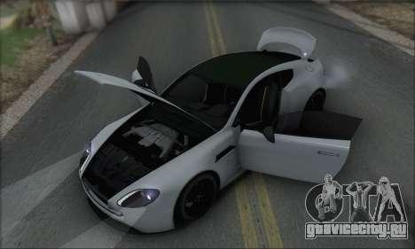 Aston Martin V12 Vantage S 2013 для GTA San Andreas двигатель