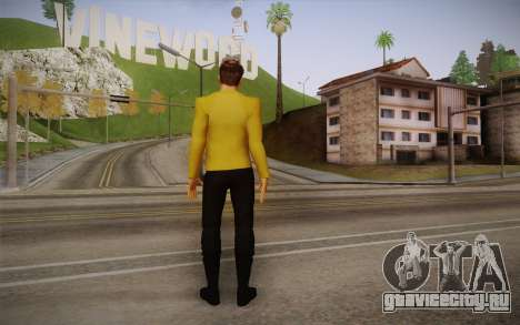 James T. Kirk From Star Trek для GTA San Andreas второй скриншот
