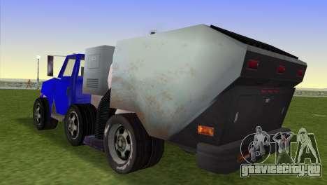 Новый мусоровоз Beta для GTA Vice City вид слева