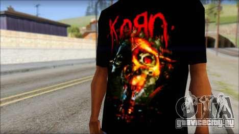 KoRn T-Shirt Mod для GTA San Andreas третий скриншот