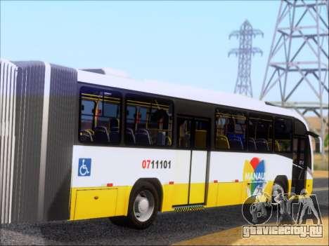 Neobus Mega BRT Volvo B12M-340M для GTA San Andreas вид справа