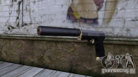 Silenced Combat Pistol from GTA 5 для GTA San Andreas