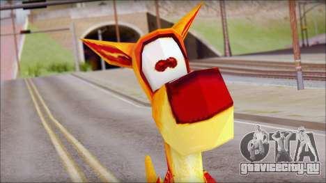 Bungalow the Kangaroo from Fur Fighters Playable для GTA San Andreas