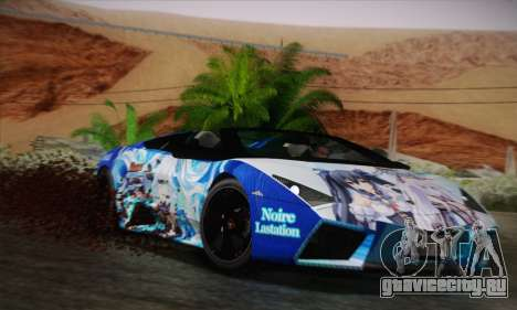 Lamborghini Reventon Black Heart Edition для GTA San Andreas