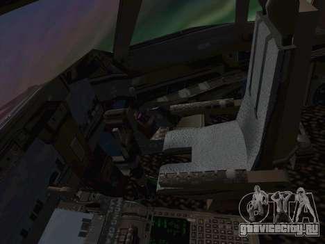 Boeing 747-400 Гаруда Индонезия для GTA San Andreas вид сбоку