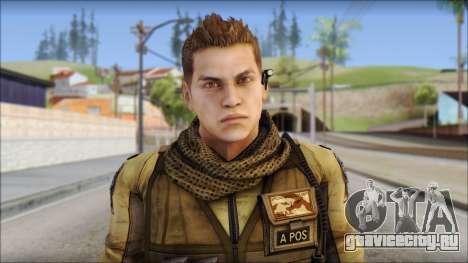 Piers Nivans Resident Evil 6 для GTA San Andreas третий скриншот