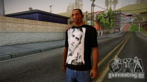 Eminem Fuck Off T-Shirt для GTA San Andreas