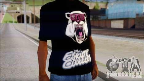 Eskimo Callboy Eisbaer T-Shirt для GTA San Andreas третий скриншот