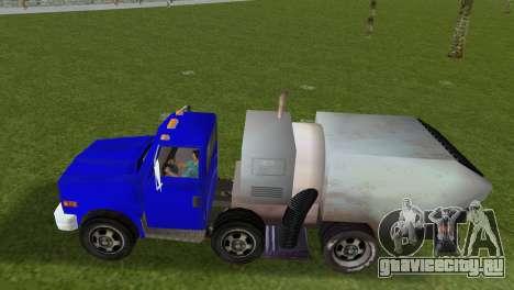 Новый мусоровоз Beta для GTA Vice City вид сзади слева