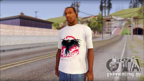 Rise Against T-Shirt V2.1 для GTA San Andreas