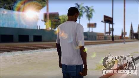 CM Punk T-Shirt для GTA San Andreas второй скриншот
