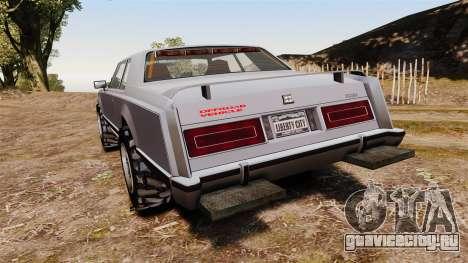 Dundreary Virgo Cliffrider для GTA 4 вид сзади слева
