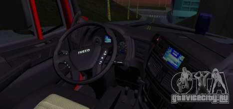 Iveco Stralis HI-ROAD для GTA San Andreas вид сзади слева