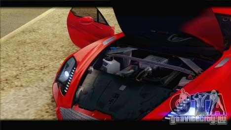 Aston Martin One-77 2010 для GTA San Andreas колёса