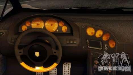 Pegassi Zentorno from GTA 5 v3 для GTA San Andreas вид изнутри