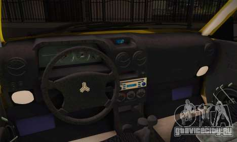 Kia Pride 132 для GTA San Andreas вид сзади слева