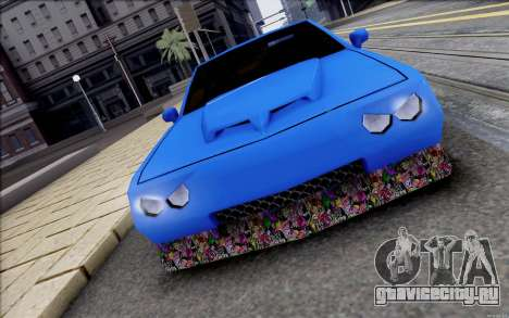 Buffalo Drift Style для GTA San Andreas вид слева