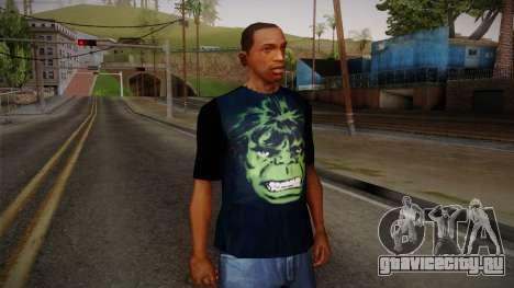 HULK T-Shirt для GTA San Andreas