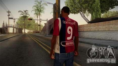 Talleres de Córdoba Shirt для GTA San Andreas второй скриншот