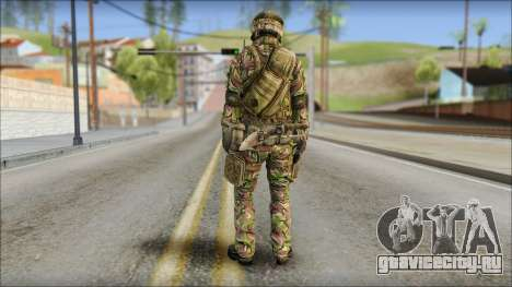 Forest SAS from Soldier Front 2 для GTA San Andreas второй скриншот