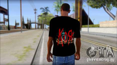 KoRn T-Shirt Mod для GTA San Andreas второй скриншот
