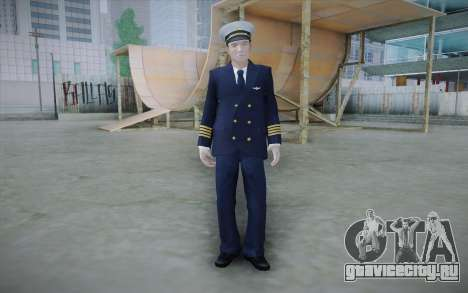 Commercial Airline Pilot from GTA IV для GTA San Andreas
