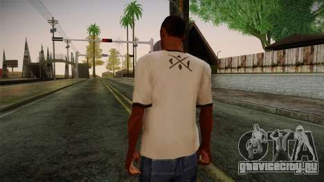 Chucks Anon Family T-Shirt для GTA San Andreas второй скриншот