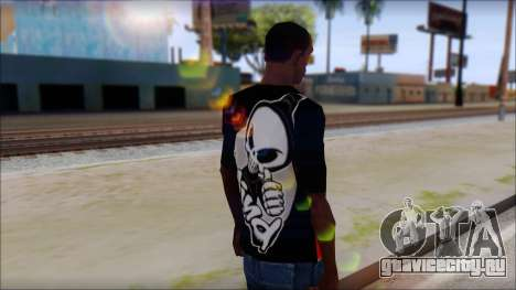 Blind Shirt для GTA San Andreas второй скриншот